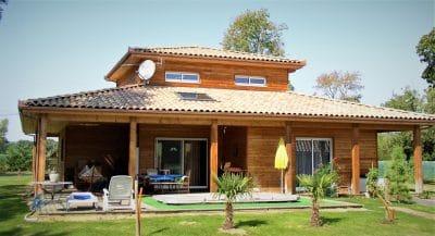 Maison bois à étage